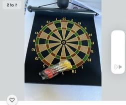 "15"" Magnetic Dartboard 2 in 1 darts NEW"