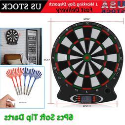 15in electronic dart board set target game