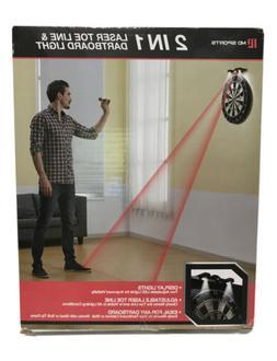 2 In 1 Laser Toe Line & Dartboard Light