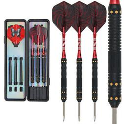 20g-26g DARTS SET, Shaft Flights Steel Tip+3 Shafts+Free Cas