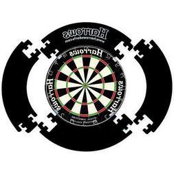 Harrows 4 Piece Dartboard Surround Blackharrows