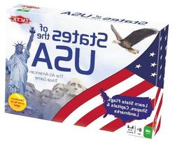 Tactic Toys 53281 States Of The Usa Trivia - Ages 8 And Up