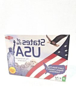 Tactic Toys 53281 States Of The Usa Trivia - Ages 8 And Up i