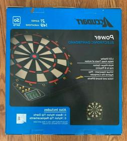 ACCUDART Power Electronic Dartboard 21 Games 149 Variations