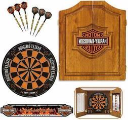 bar and shield steel tip dartboard kit