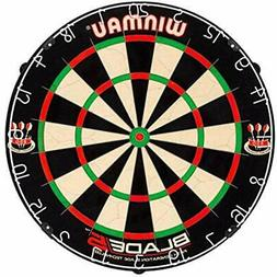 Blade 5 Bristle Dartboard With All-New Thinner Wiring For Hi