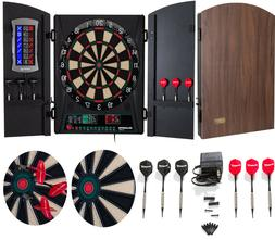 Bullshooter Cricket Maxx 1.0 Electronic Dartboard Cabinet Se