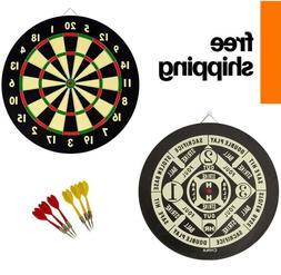 English 20 Point Dart Classic Beginner Double Dartboard Game