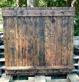 Dart Board Backboard- Upcycled - Reclaimed Pallet Wood- **FR