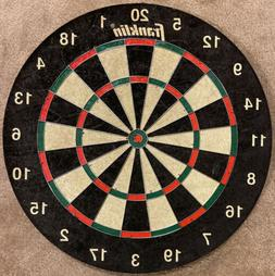 "Franklin Sports Dartboard 18"" Unused Heavy Duty 2"" Thick"