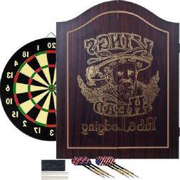 Dartboard Cabinet Set Professional Dart Board Bar Home Game