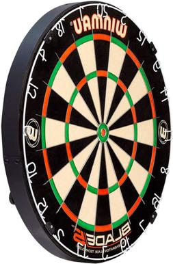Darts Game Set Dartboard Winmau Blade 5 Bristle All new
