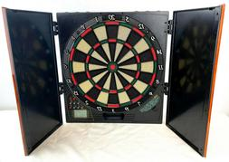 Halex Electronic Dart Board Cabinet Style Mountable Model 65
