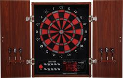 Electronic Viper Neptune Dart Board Cabinet 16 Player Game C