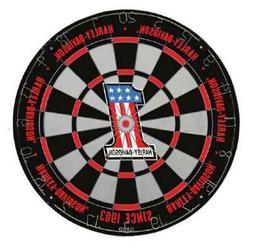 Harley-Davidson #1 Logo Tournament Dartboard - Black & Red,