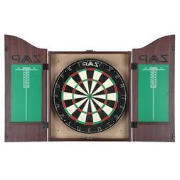 ZAAP Home Darts & Dartboard Set In Cabinet