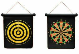 Hot Magnetic Dartboard Roll Up With Magnet Dart Double Sided