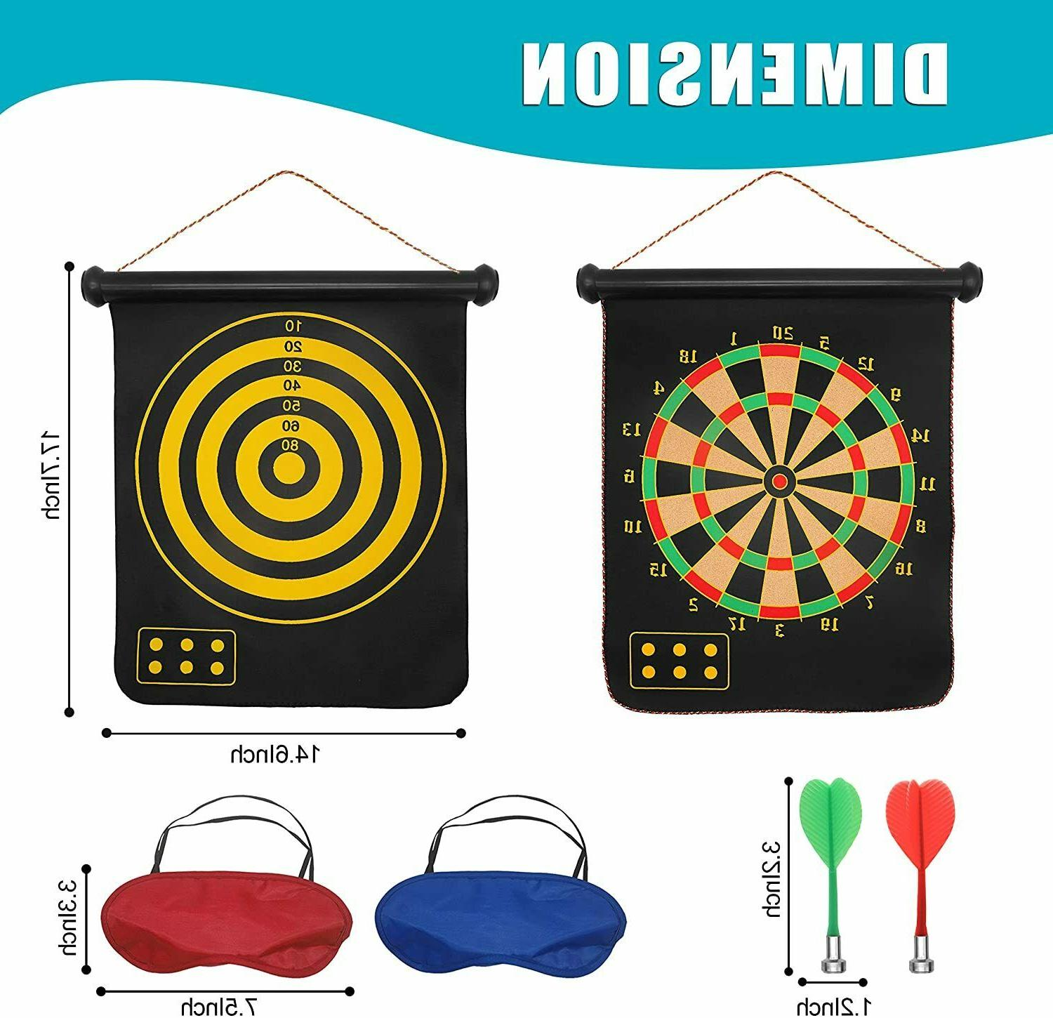 """15"""" Magnetic Sets Reversible Darts Rolling,for Leisure"""