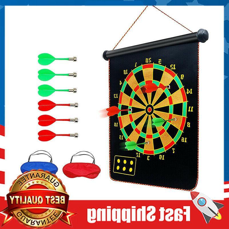 15 magnetic dart board sets 6 reversible
