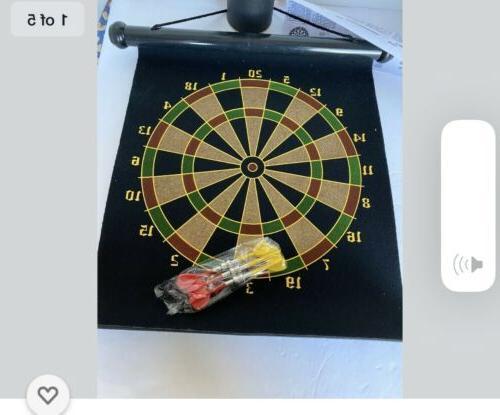 15 magnetic dartboard 2 in 1 darts