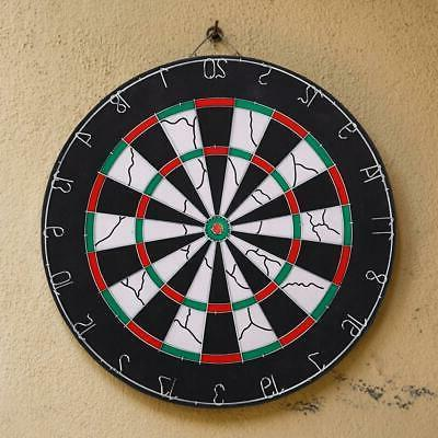 """18"""" Game Room Double Sided Dart Board Target Toy Kids Family"""