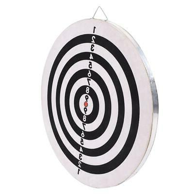 """18"""" Game Double Sided Dart Target Toy Family Leisure Sport"""