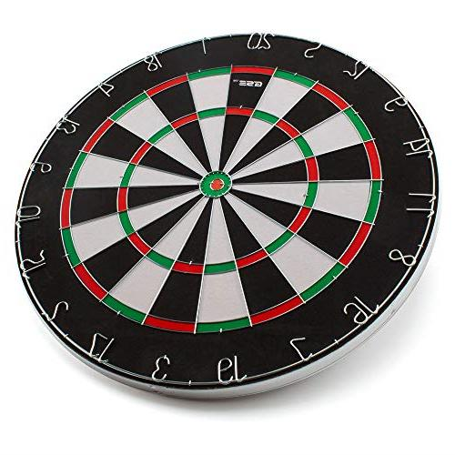 """18x1"""" Size 2-in-1 Dartboard. And Bullseye Game Darts"""