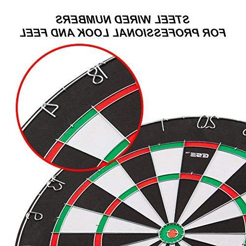 "18x1"" Dartboard. Dart And Game w/6 Darts"