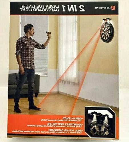MD 2 1 Dartboard Display LED Light and Line Marker
