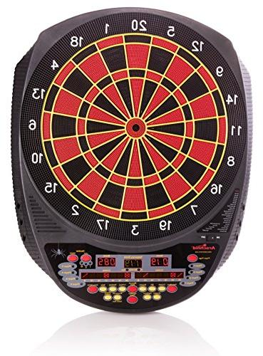 Arachnid Inter-Active 6000 Electronic Dartboard Features Games 123 Variations for 8