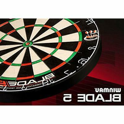 Blade 5 Bristle Dartboard With All-New For &