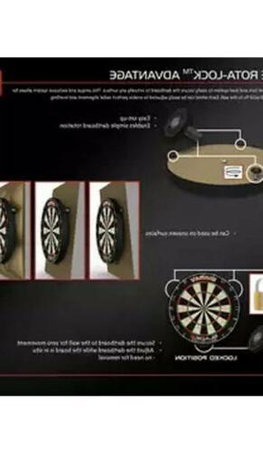 Winmau Level Dartboard Dart With Rota-Lock