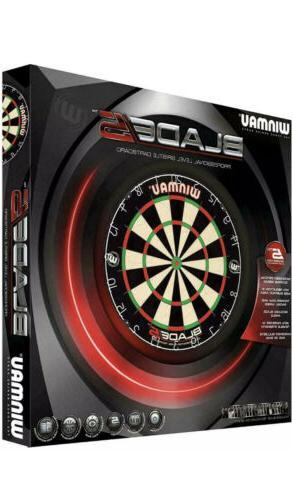 blade 5 professional level bristle dartboard dart