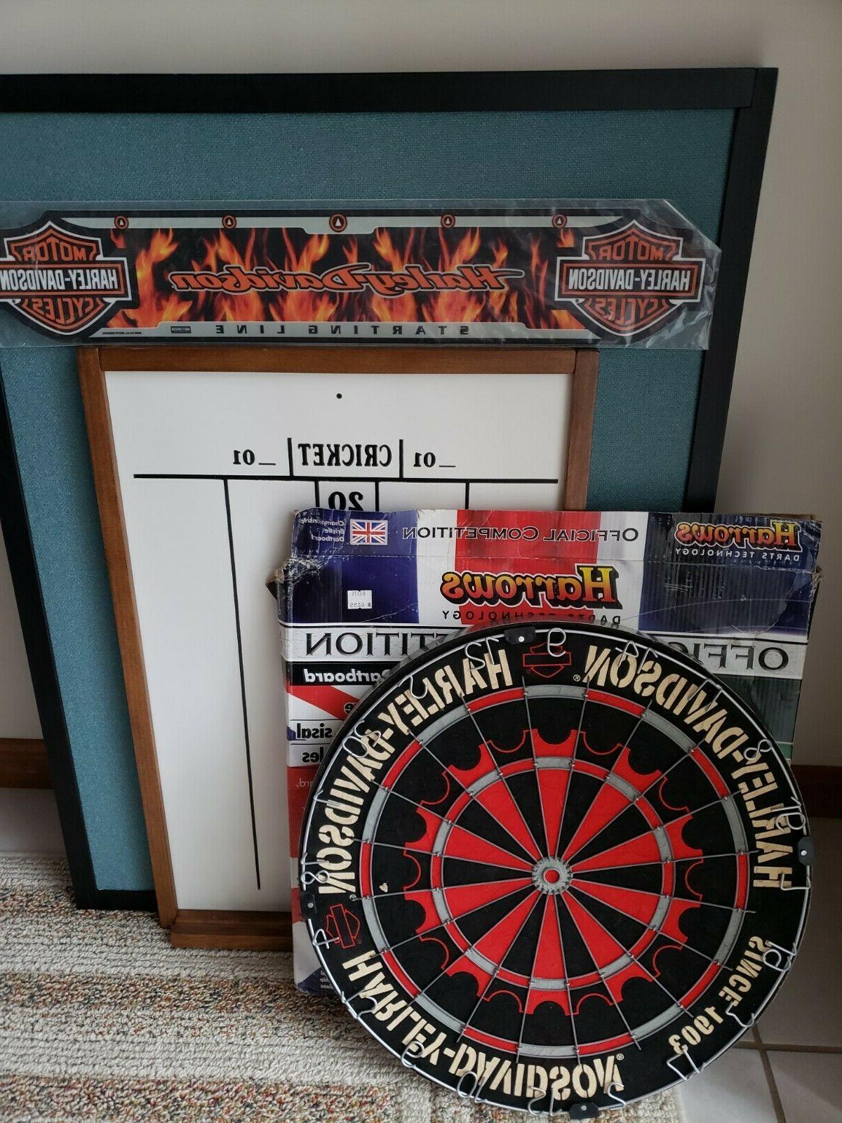 dart board and accessories harrows harley