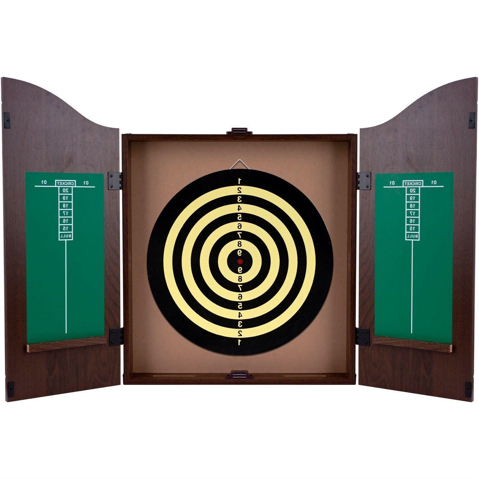 dart board backboard cabinet supplies