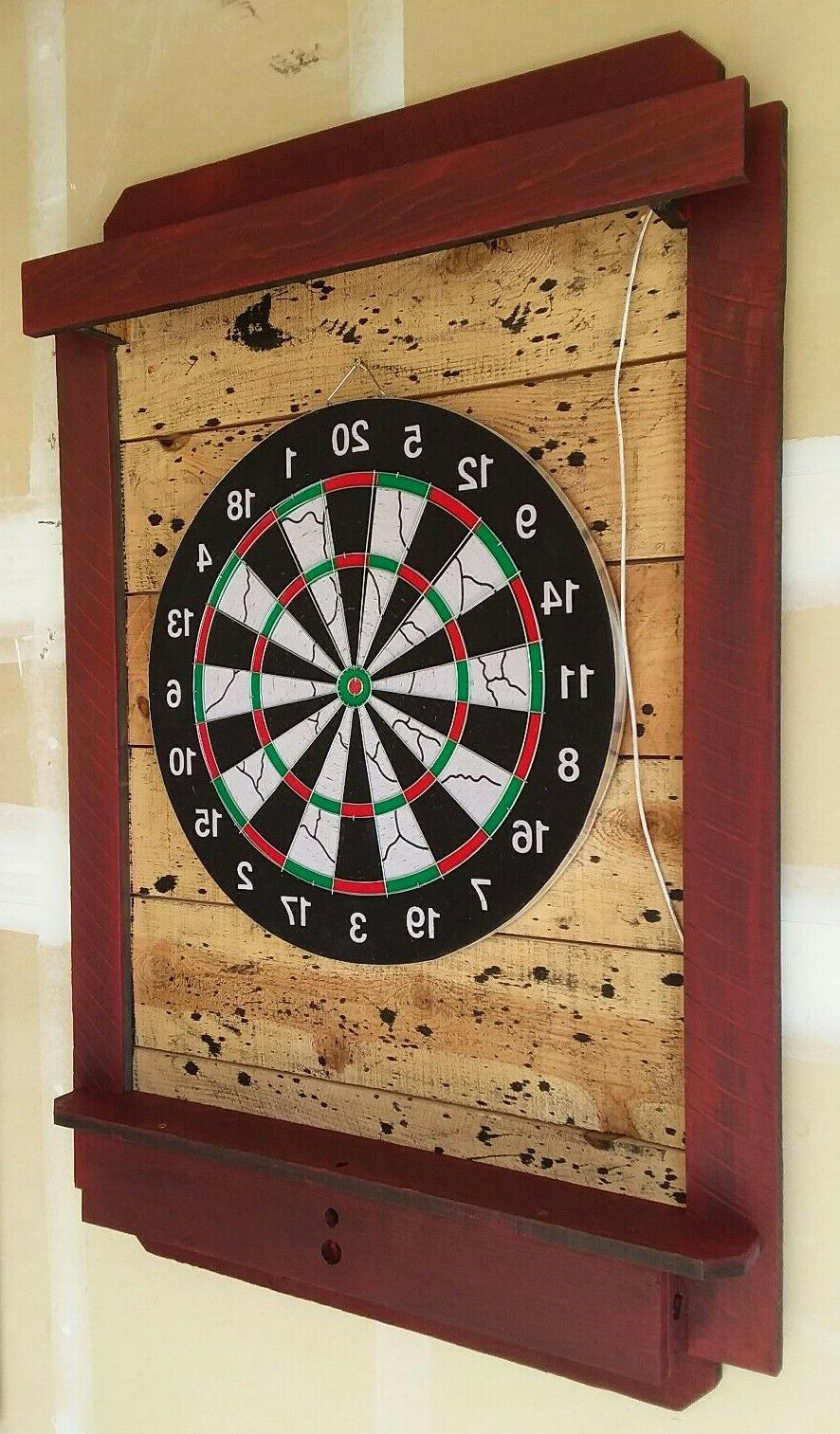 Darts Backboard Throw line