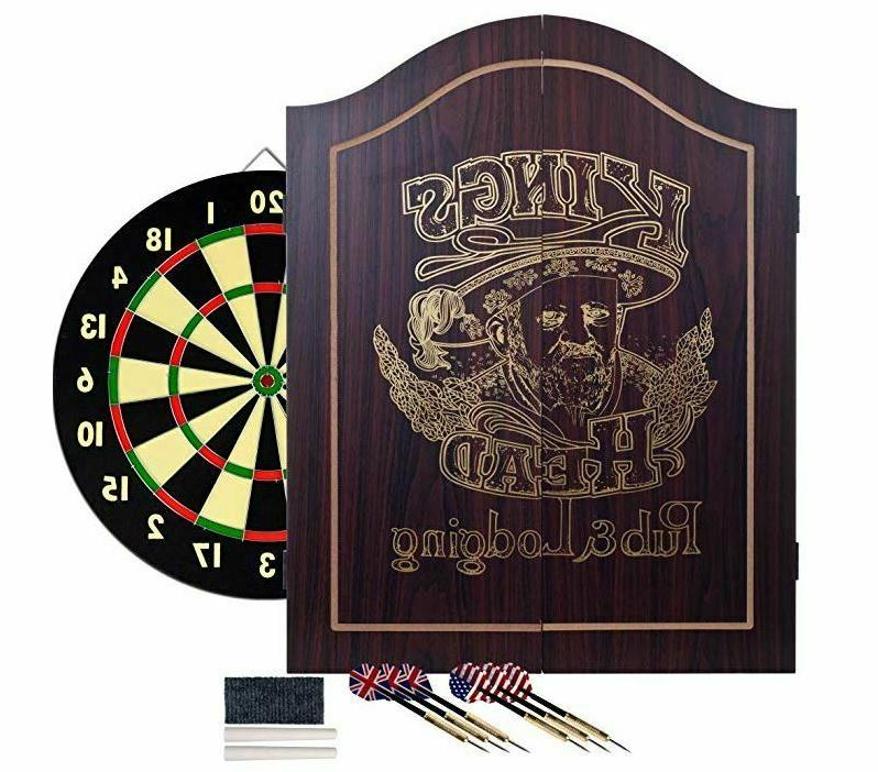 Dartboard Cabinet Set Dart