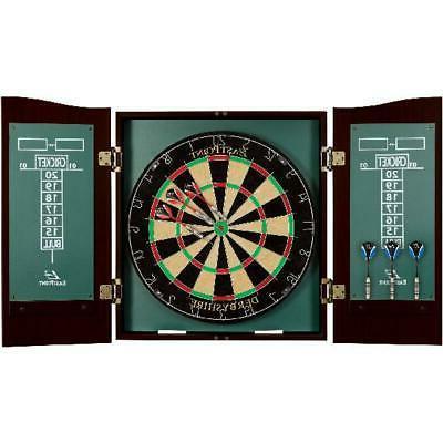 EastPoint Sports Derbyshire Bristle Dartboard; 18 x 1.5  Nat