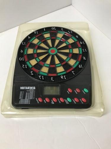 Electronic Dart Board with Desktop Stand & Sound