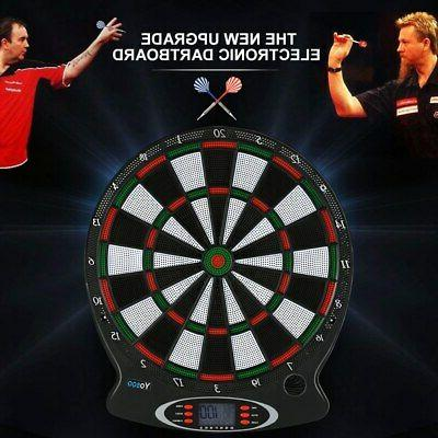 Electronic Dartboard Set LCD With Darts
