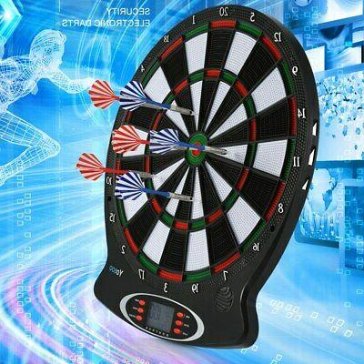 Electronic Dartboard Game Room LED Display Wall with Darts