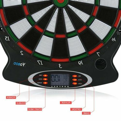 Electronic LCD 38cm Target Soft Tip Target Board