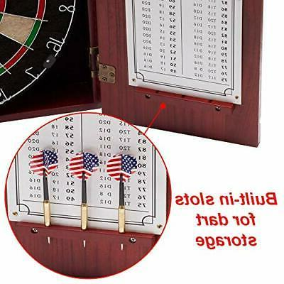 GSE Games & Sports Expert Solid Cabinet Deluxe Mahogany
