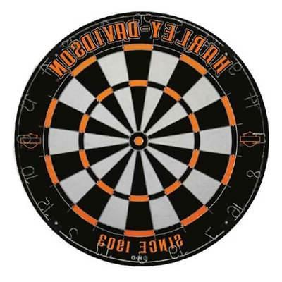 harley davidson legend tournament dartboard black