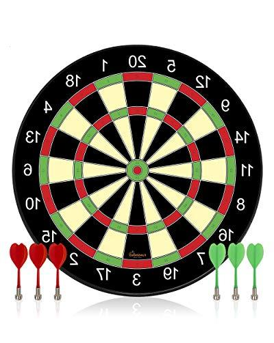 Funsparks Magnetic Dart Board Game - Full Set with 3 Green a