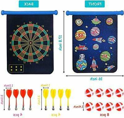 Yuham Magnetic Board Indoor Kids and 8