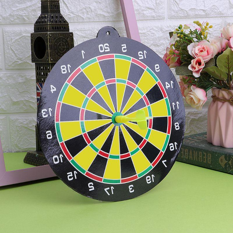 Magnetic Flying Set With <font><b>Dartboard</b></font> Office Target Game Toys