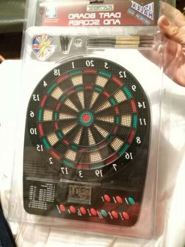 Halex model 64625 small sz Electronic Dart Board