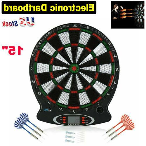 new arachnid electronic dart board set target