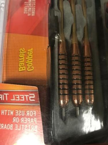 New In Pkg EAGLE Tip Copper Barrels 20 Free Shafts/Flts/O